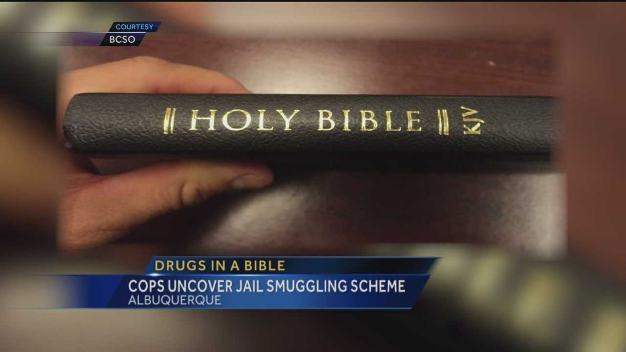 People have found a lot of unusual ways to sneak drugs into jail, but this one might just take the cake. Investigators found people using bibles to smuggle in heroin and suboxene.