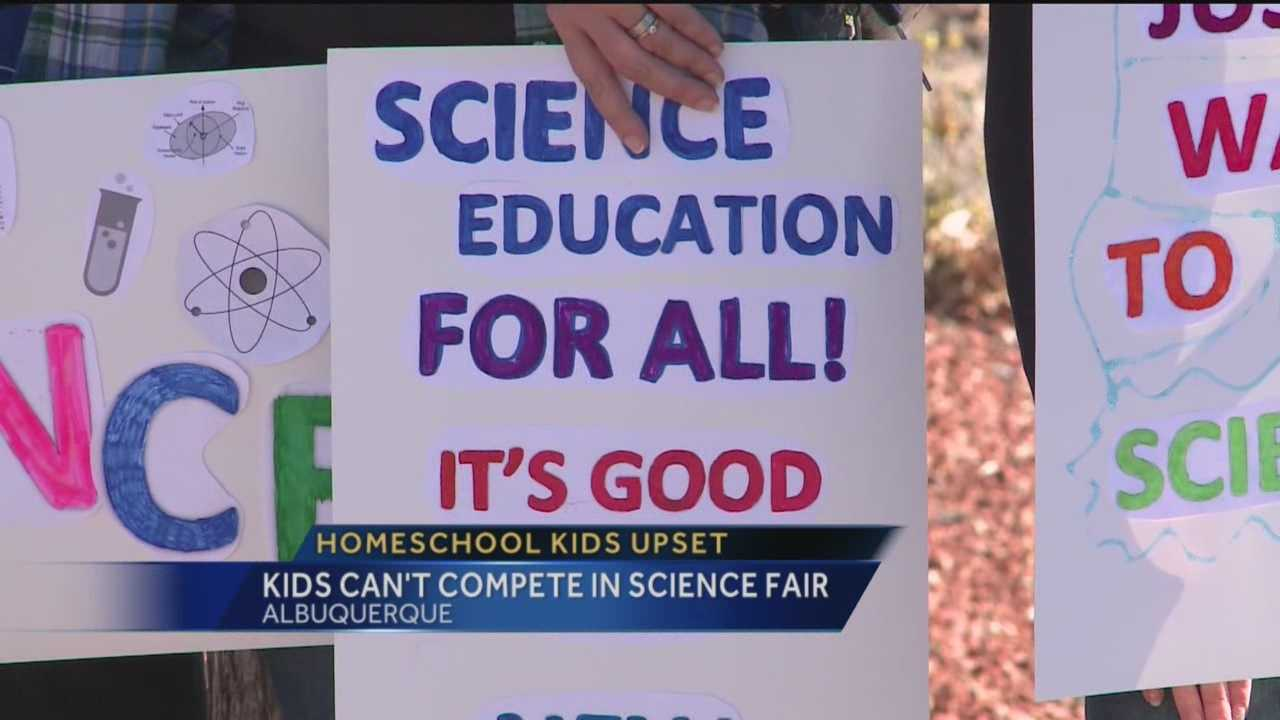 Some New Mexico kids are heart broken after learning they can't compete in a prestigious science fair. So what's the problem? It's because they're home schooled.