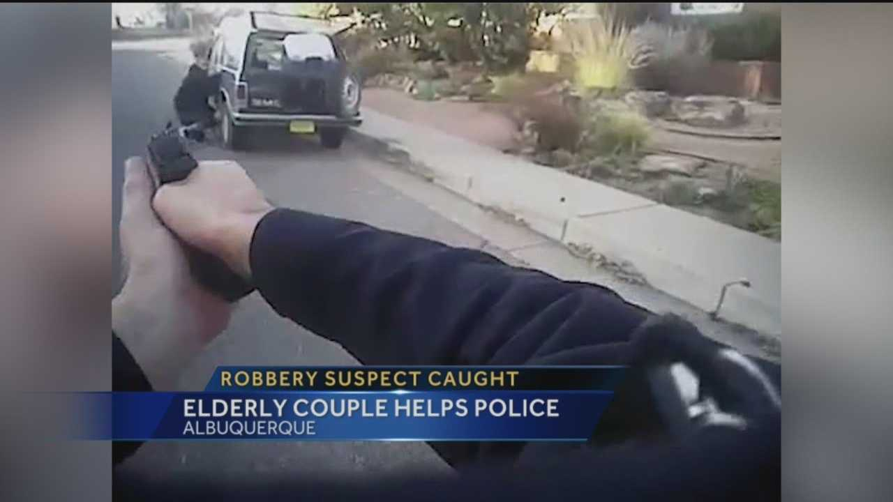 Earlier this week, an area couple was able to get a suspected thief on his knees with his hands behind his back by the time police arrive.