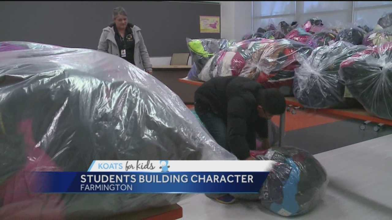 Students at a Four Corners school are building character with a little help from KOATs for Kids.
