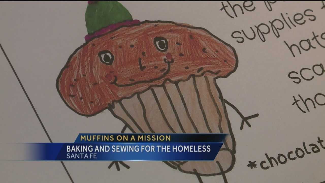 With the cold weather in New Mexico, a 9-year-old Santa Fe girl has a plan to help the homeless. She's using two of her hobbies, knitting and baking to raise money.