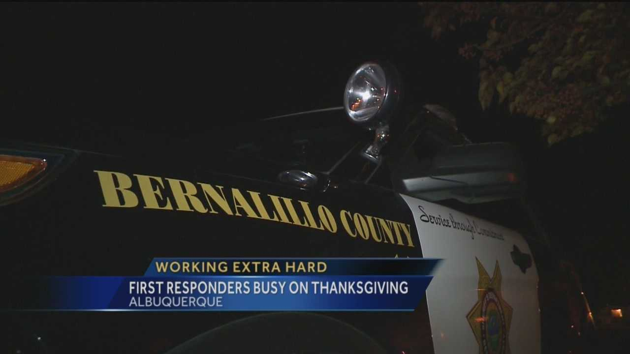 Thanksgiving is a time to be with family and friends, but some law enforcement officers couldn't do that today because they were keeping you safe. But some deputies are working major overtime to keep a larger police presence in the community.