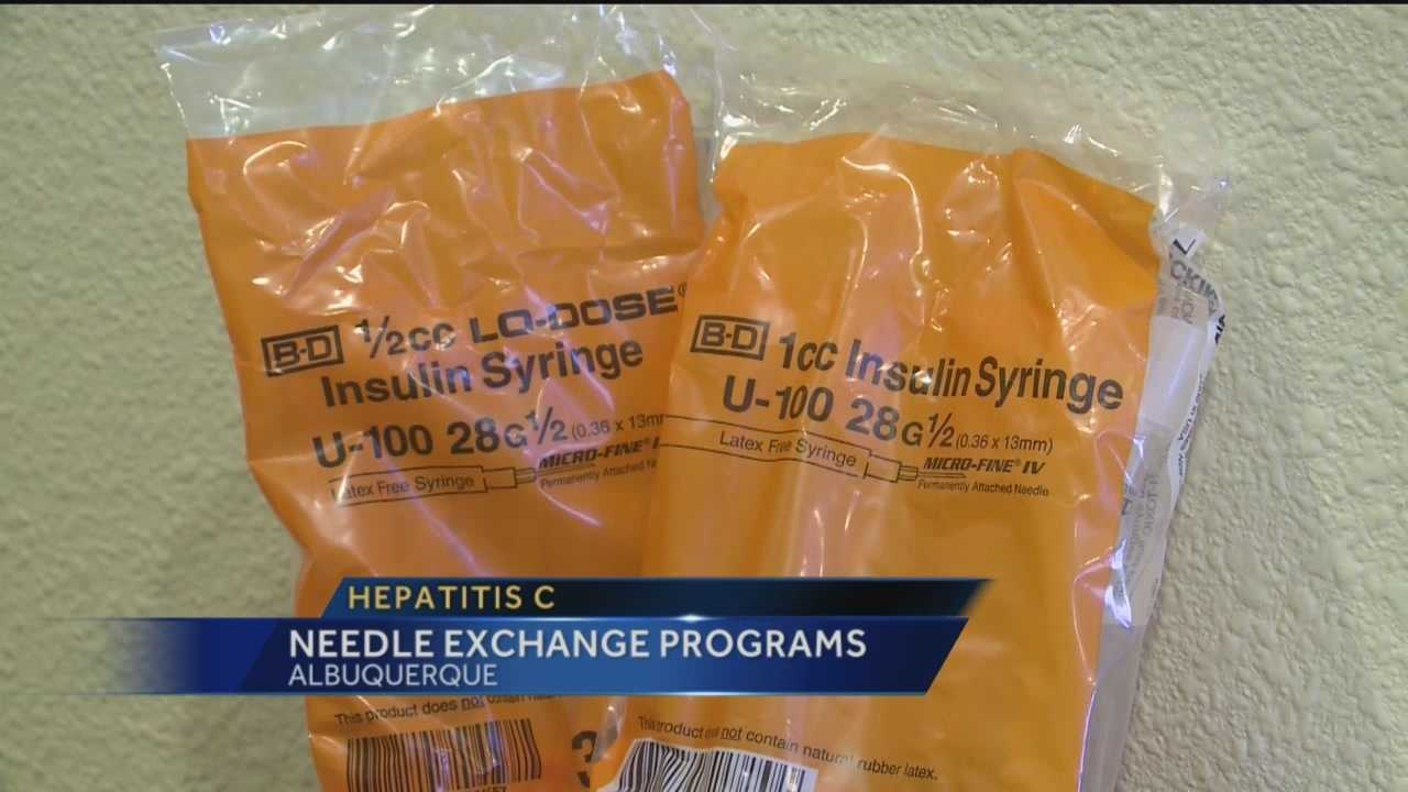 Hepatitis C is one of the leading infectious diseases plaguing New Mexico. Experts say its most commonly spread through drug-needle use. Needle exchange programs are important in preventing the spread of the disease.