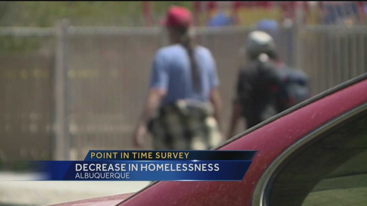 Almost a year after the city of Albuquerque did its 2015 homelessness study, we're finding out the results and how the numbers have changed