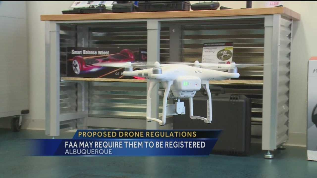"""Federal officials are getting closer to making a nationwide """"drone law."""" They've just come out with some suggested regulations that could make sure there's always a way to find out who's flying those gadgets."""