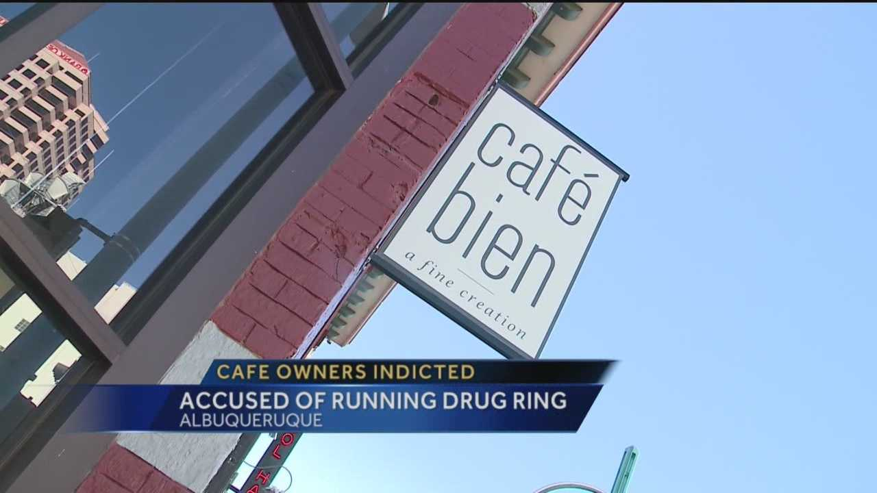 The lights are out and the doors are locked at a downtown restaurant, but it didn't close because of bad business. The owners are accused of running a marijuana ring.