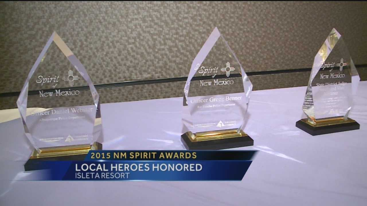 Local Heroes Honored