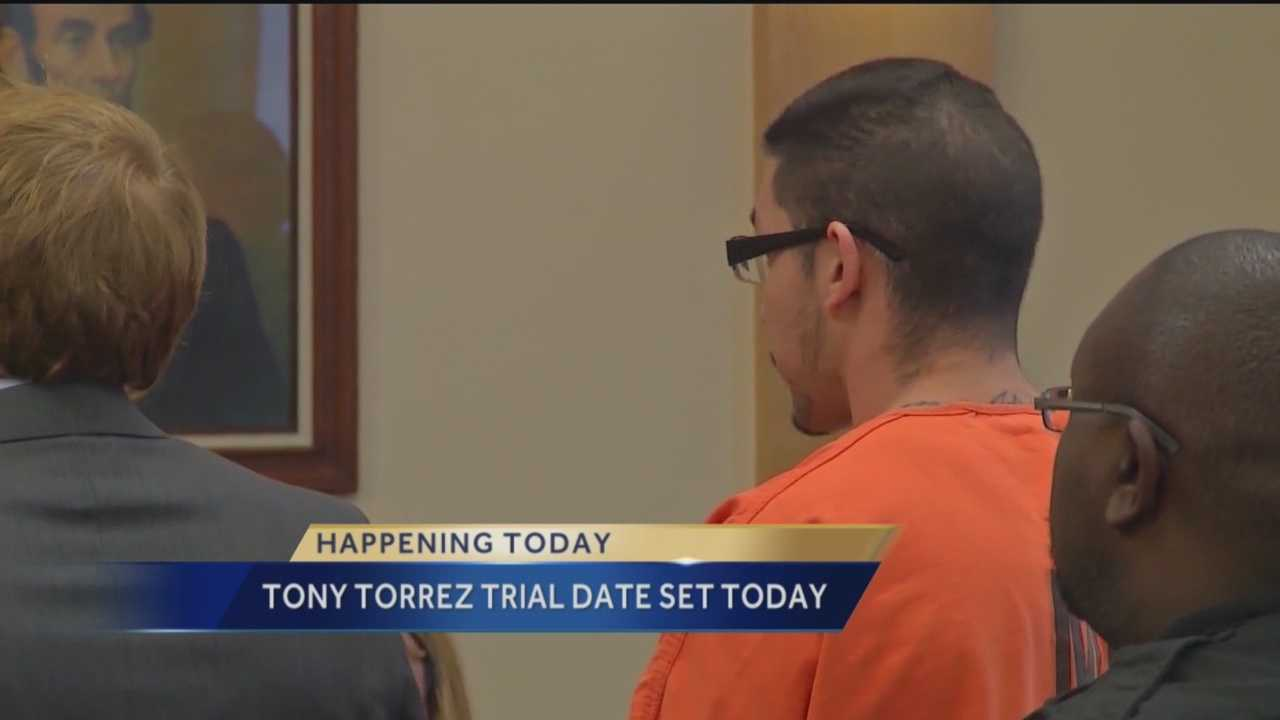 Tony Torrez Trial Date Set