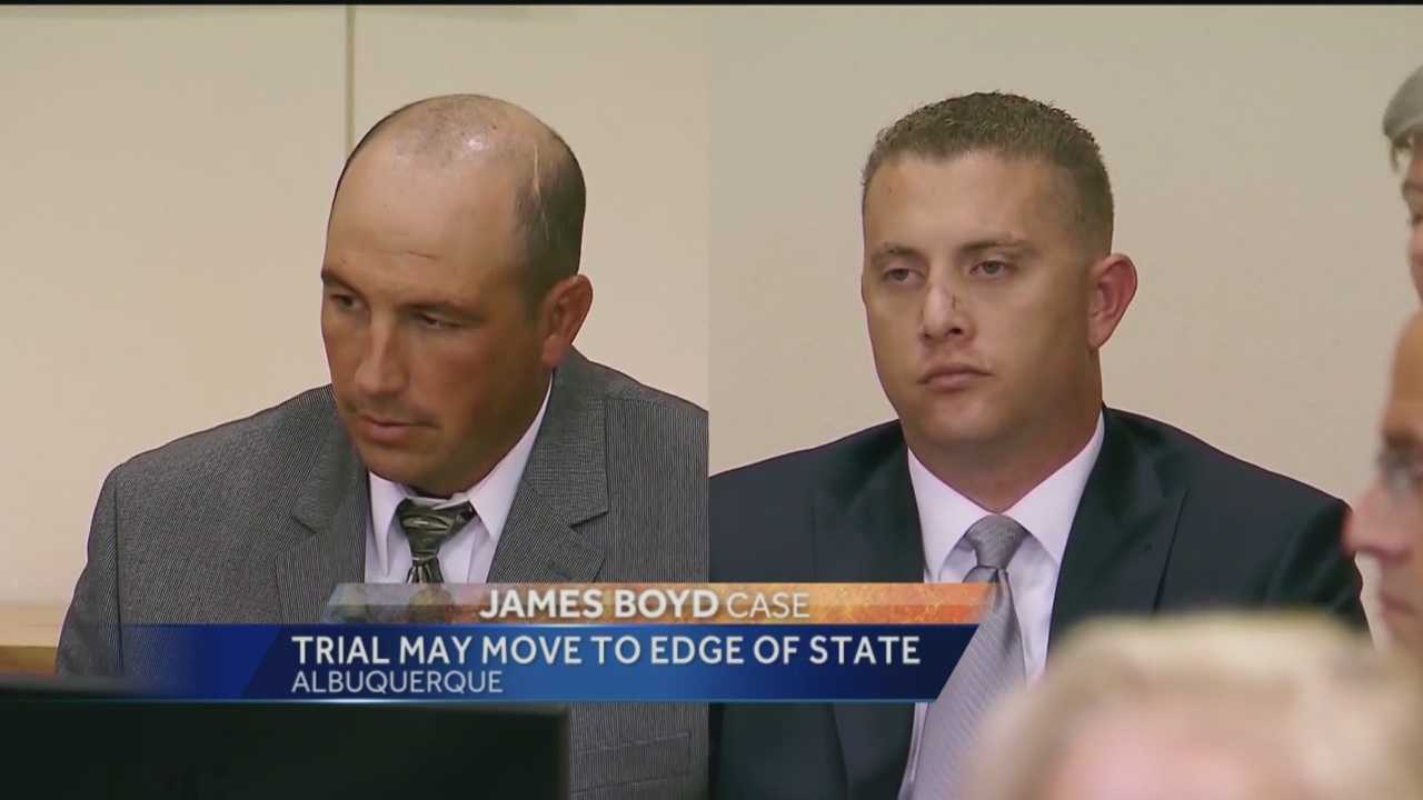 The former Albuquerque police officers charged with murder want their trial to be held in Dona Ana County.