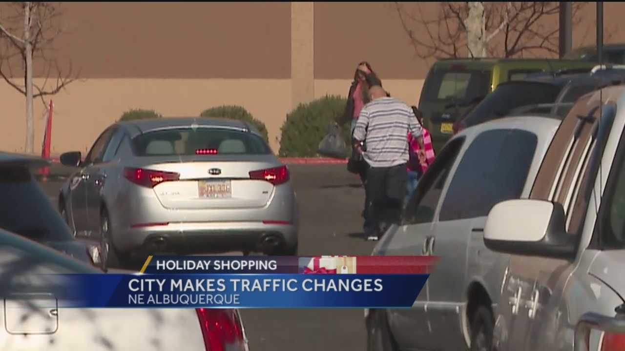 The city of Albuquerque and its malls are trying to make shopping a little easier for people this year.