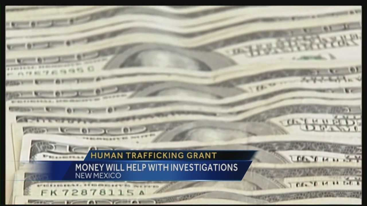 Human trafficking is becoming a very serious problem in New Mexico. Now the state is getting help to tackle the problem.