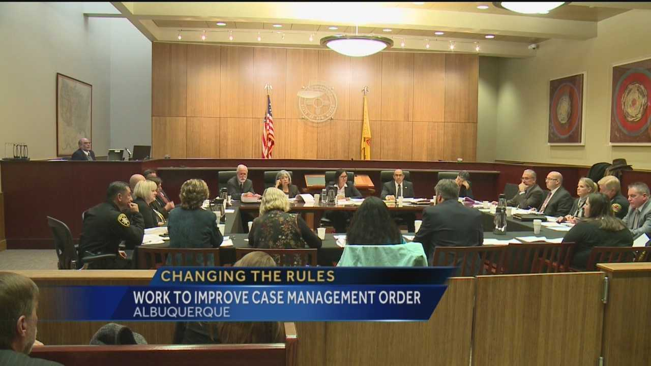 Today, Target 7's Nancy Laflin was there as leaders came together to work on a solution to a complex legal problem that has led to a lot of finger pointing when it comes to violent crime in the Albuquerque metro.