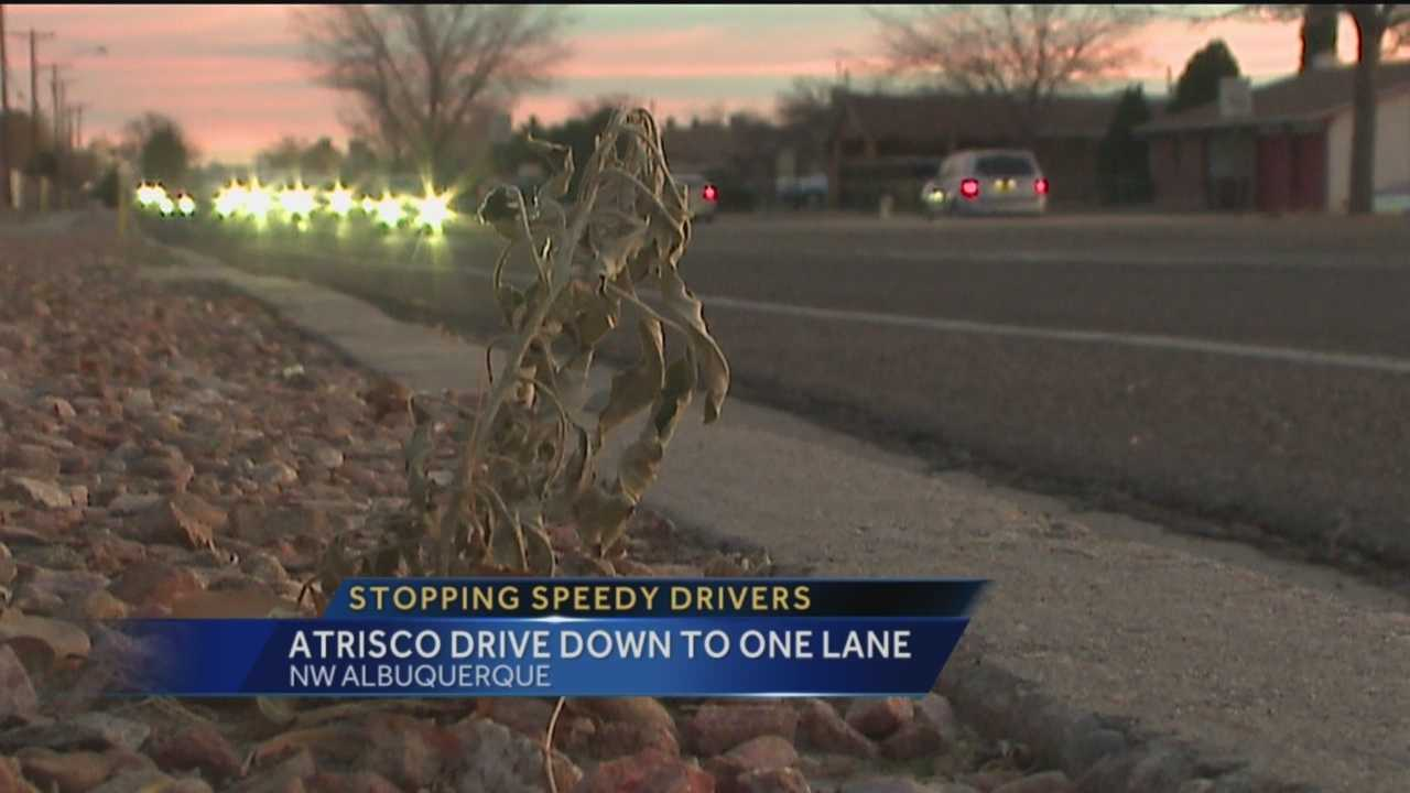 Big changes are coming to a busy road in Albuquerque in an effort to stop speeding.