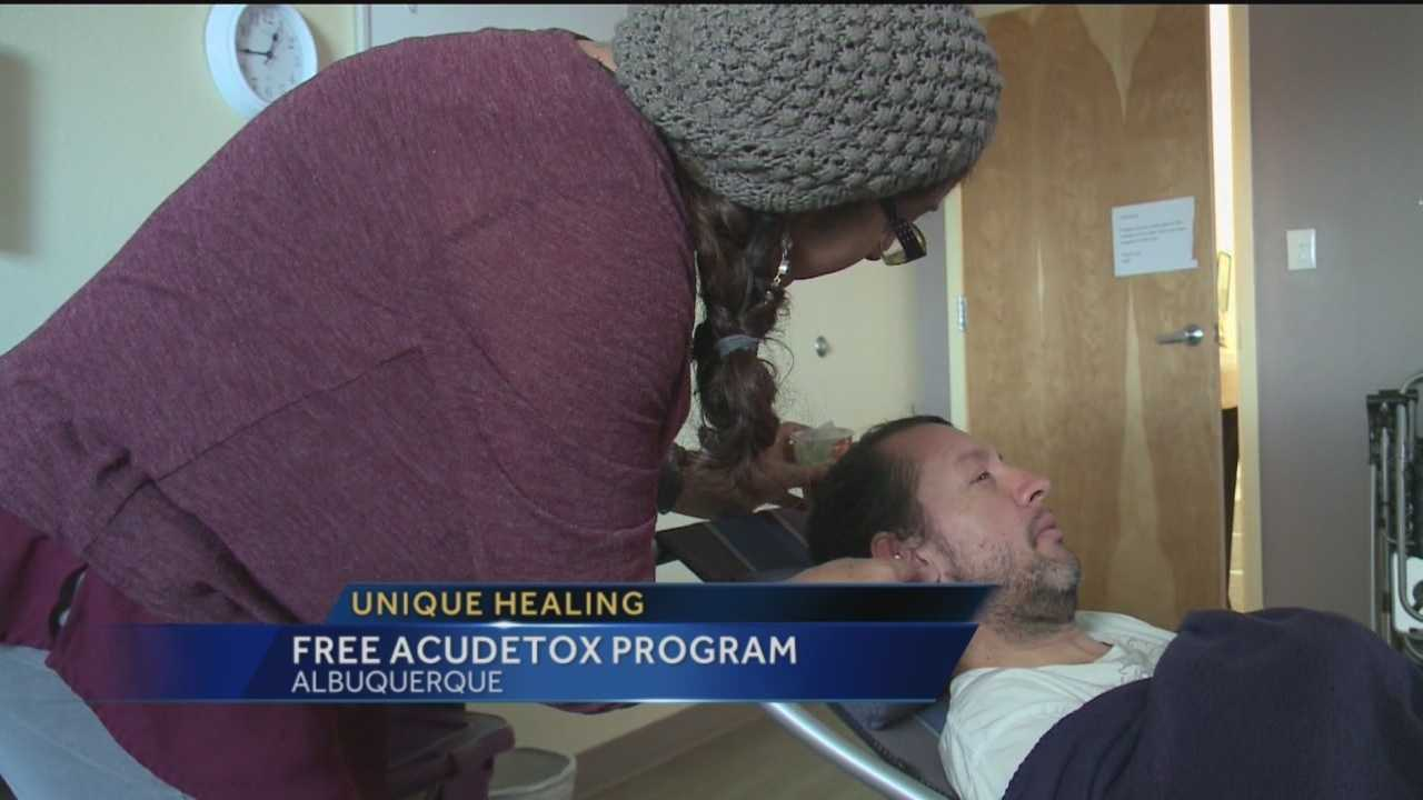 A free program in the South Valley uses needles to help people detox off drugs.