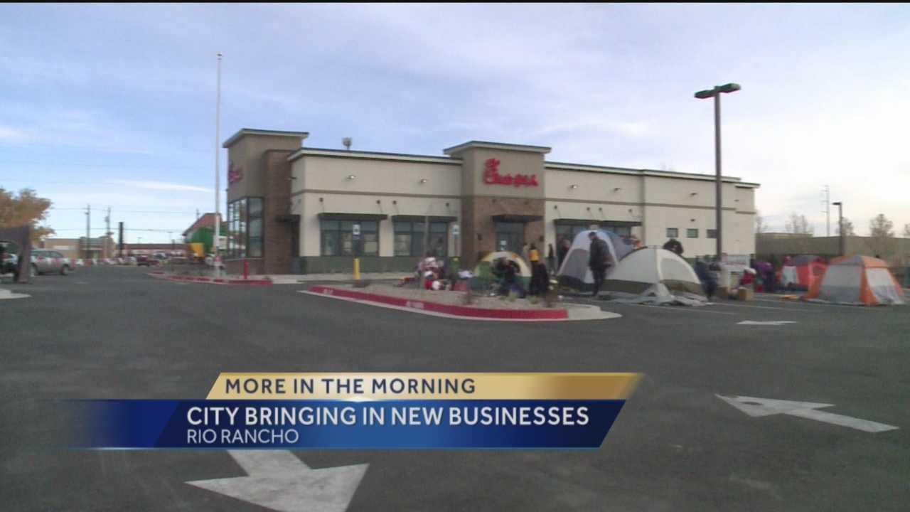 Rio Rancho Bringing In New Businesses