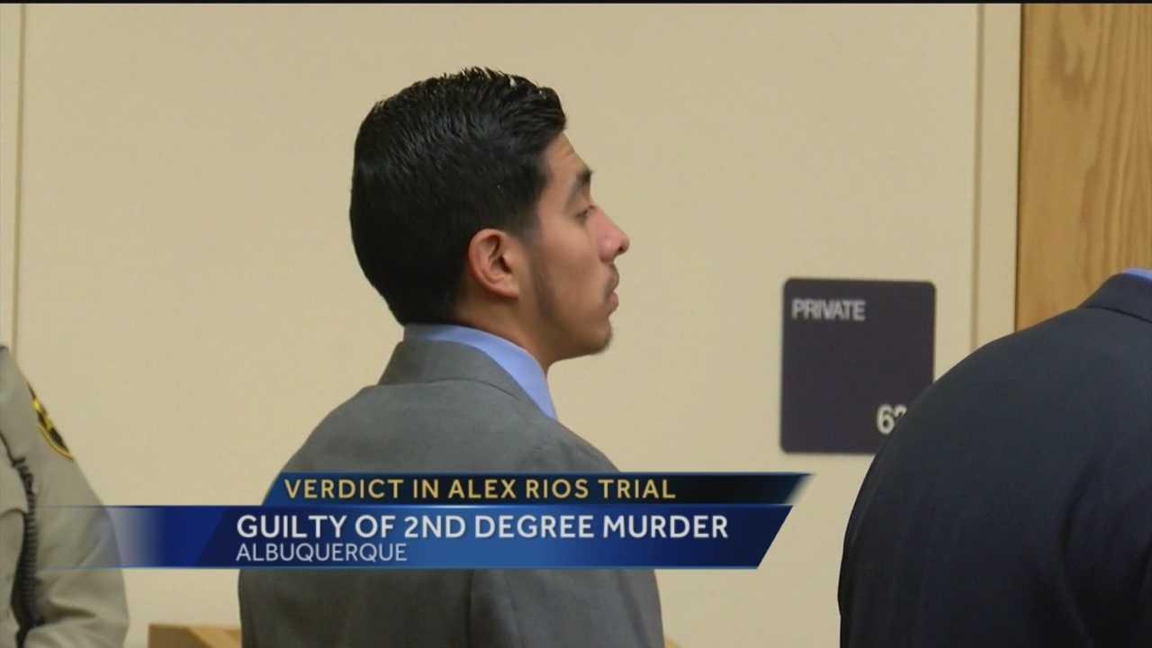 Alex Rios Guilty of 2nd Degree Murder