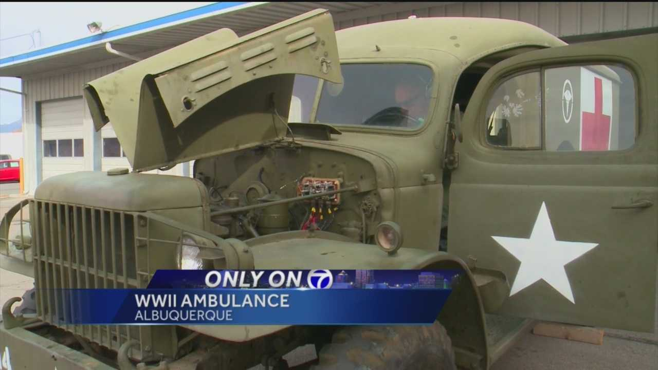 A piece of WWII history is sitting in an Albuquerque museum, but that's only part of the story, because the man who drove it in the war is in Albuquerque too.