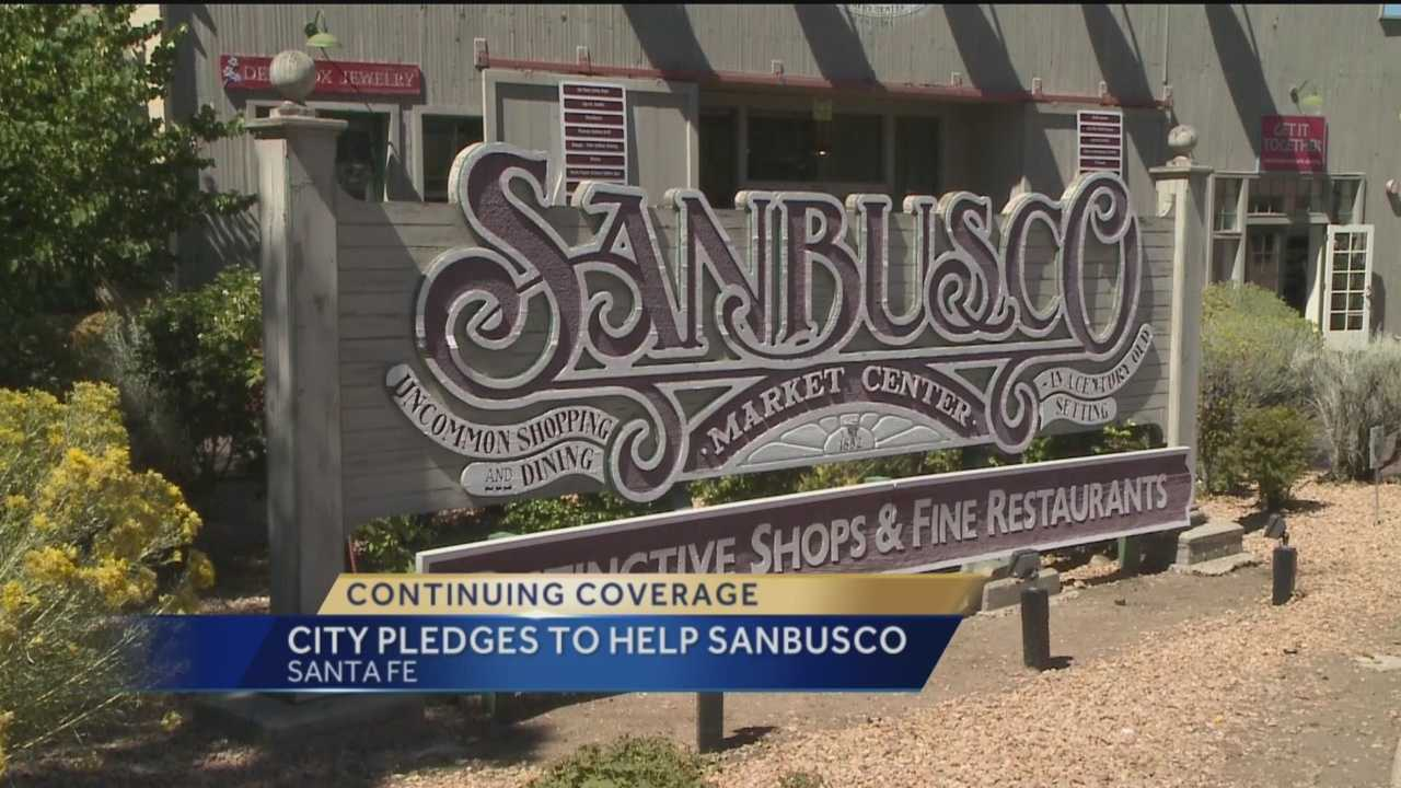 The Sanbusco shopping center in Santa Fe is getting ready for a change, businesses are moving out and a school is moving in. The city is trying to make sure that transition goes as smoothly as possible.