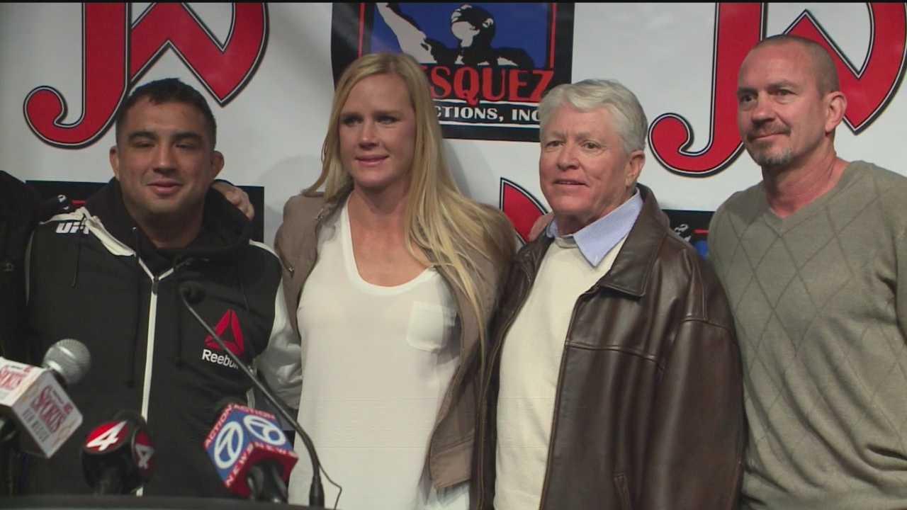 Negotiating Next Holly Holm Fight