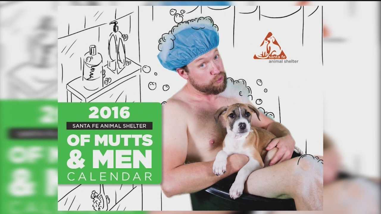 "Chances are you've seen those firefighter calendars, they get people talking and they raise money for a good cause. A New Mexico animal shelter thought that was a good idea and created the ""Mutts and Men Calendar."""