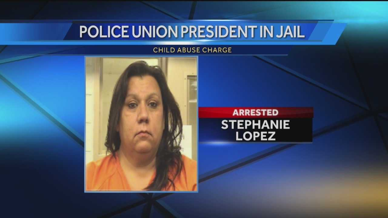 Police Union President In Jail