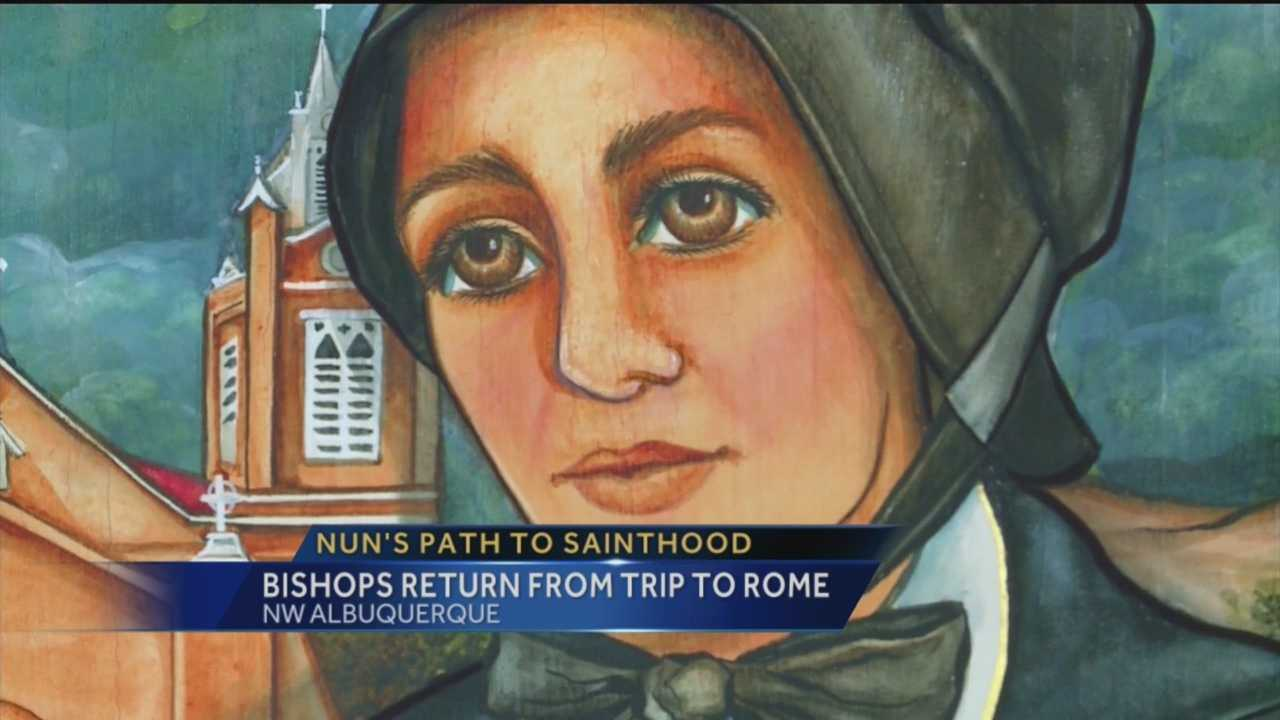 Sister Blandina is one step closer to sainthood, and becoming the first person from New Mexico to earn the honor.