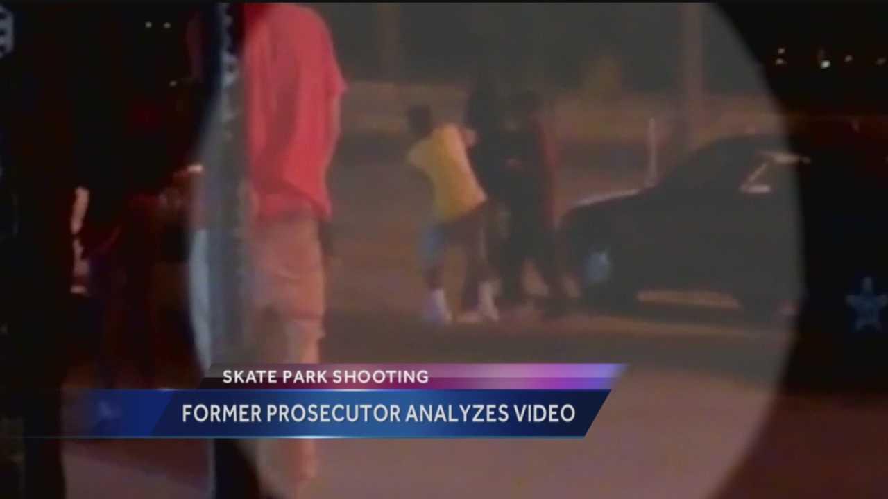 Former prosecutor analyzes skate park video