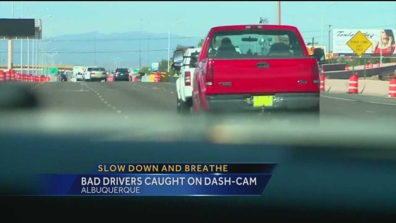 An Albuquerque teen is recording bad drivers in the city.
