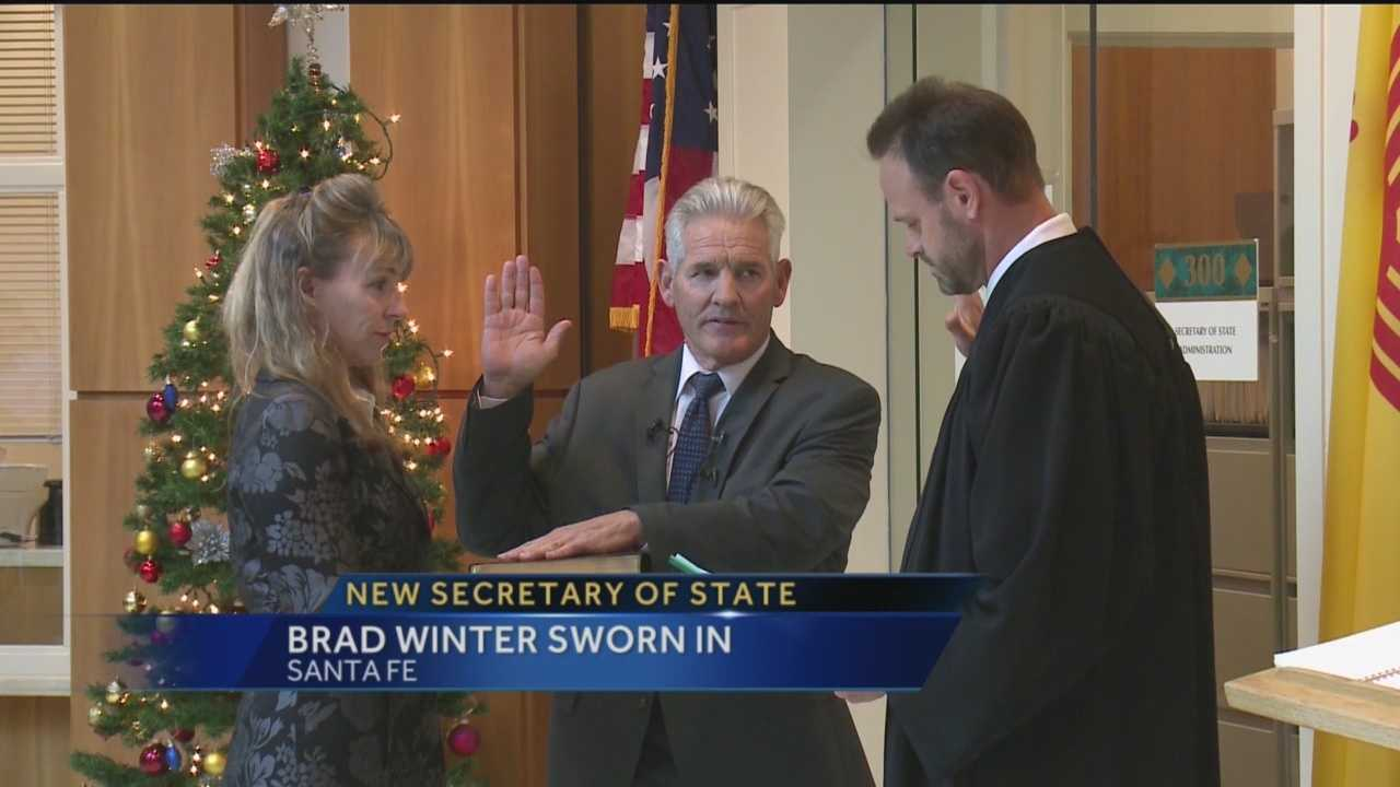 Gov. Susana Martinez has named Albuquerque City Councilor Brad Winter as the state's next secretary of state.