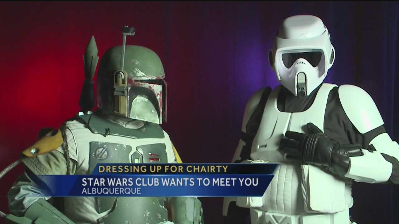 "Storm troopers and bounty hunters will soon greet Albuquerque ""Star Wars"" fans."