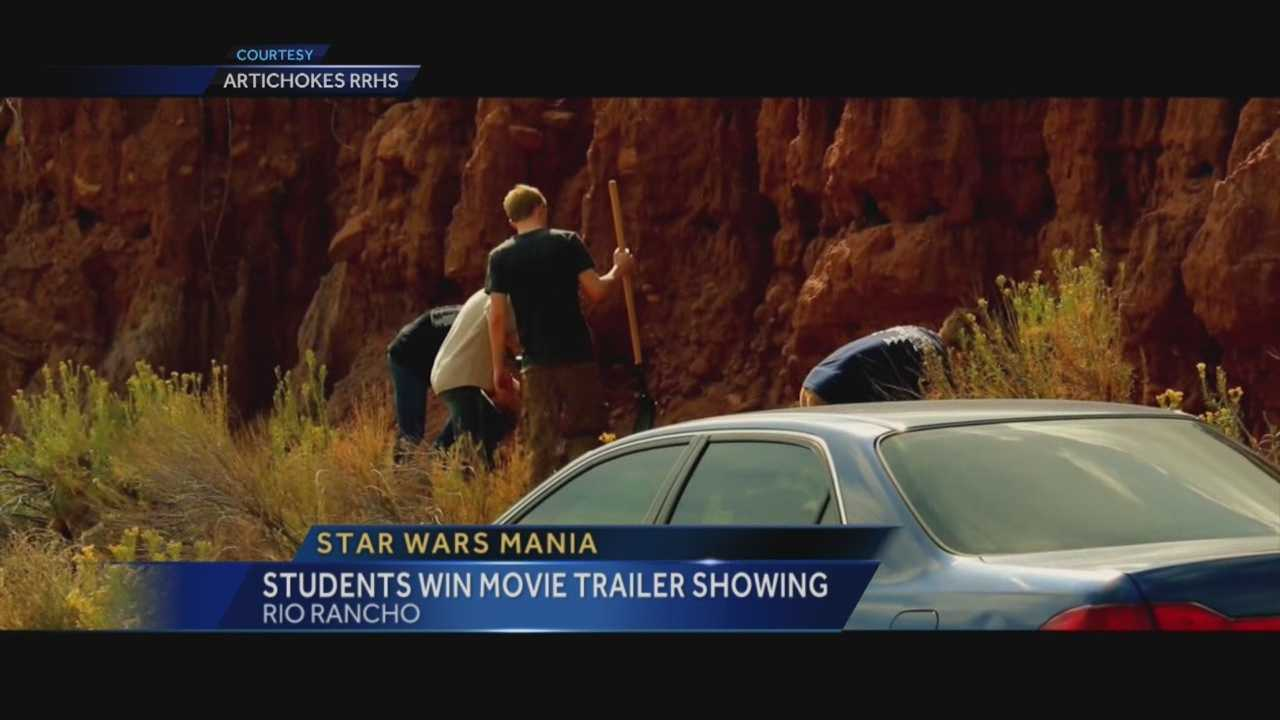 Some Rio Rancho high schoolers created a trailer from the ground up, and now it will get a big-screen premiere right before Star Wars.