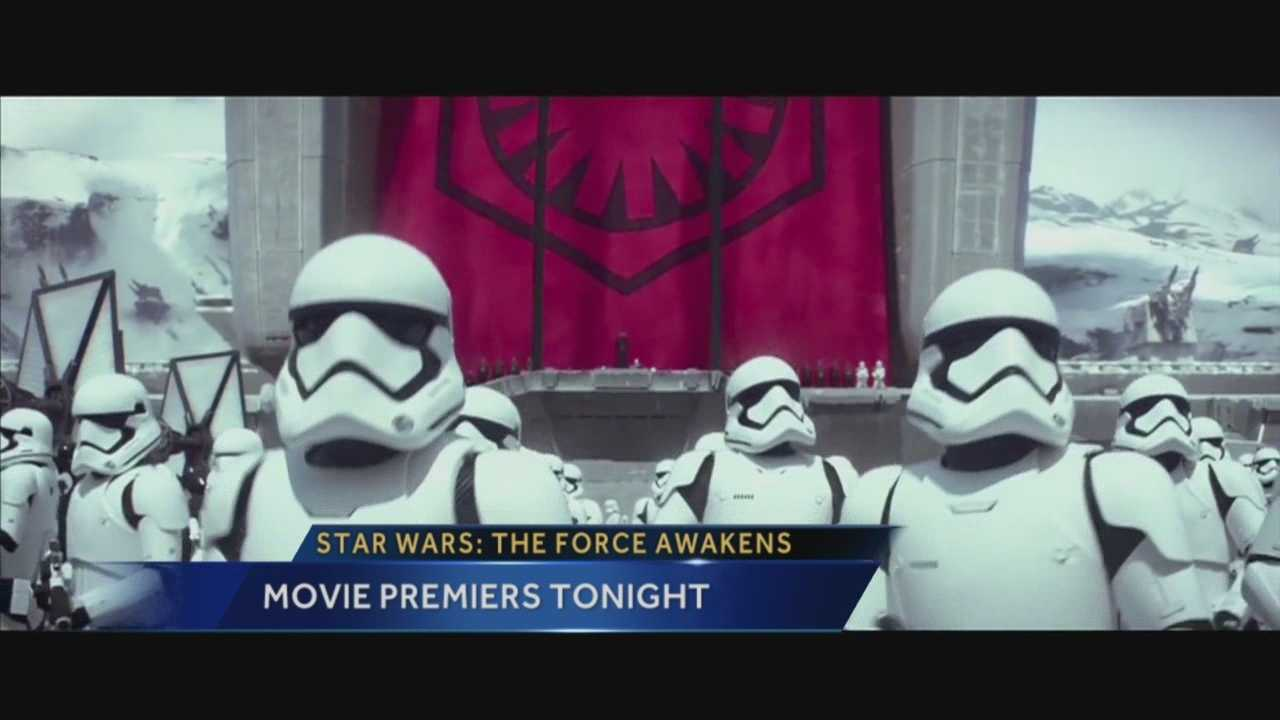 New Star Wars Movie Premieres Tonight