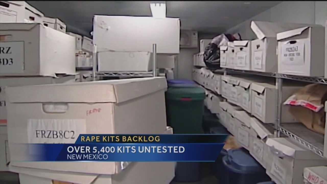 More than 5,400 rape kits untested