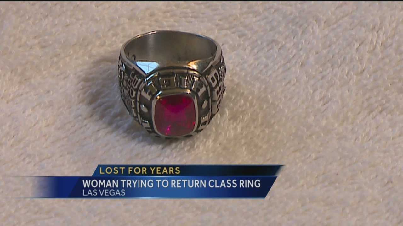 A New Mexico woman found something very precious while cleaning out her home. A class ring from 1989, now she's trying to find the owner.