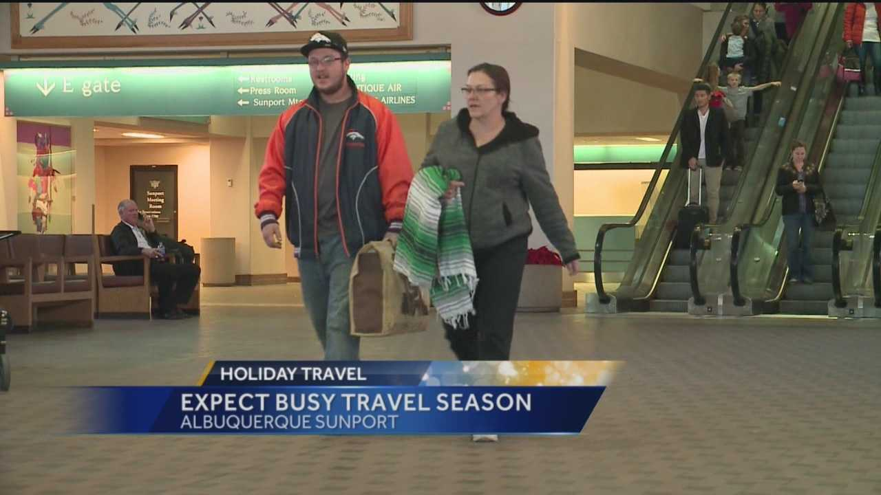 Busy Holiday Travel Season Expected