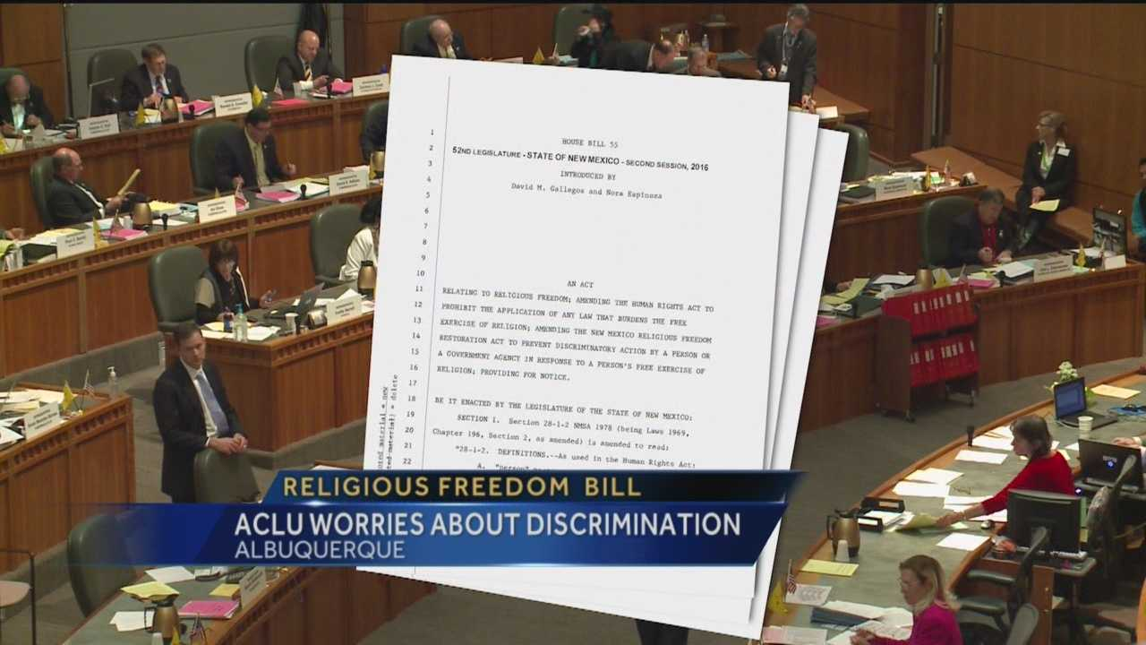 Backers of a proposed bill said it protects religious freedoms, but civil liberty groups said the bill does nothing but discriminate.