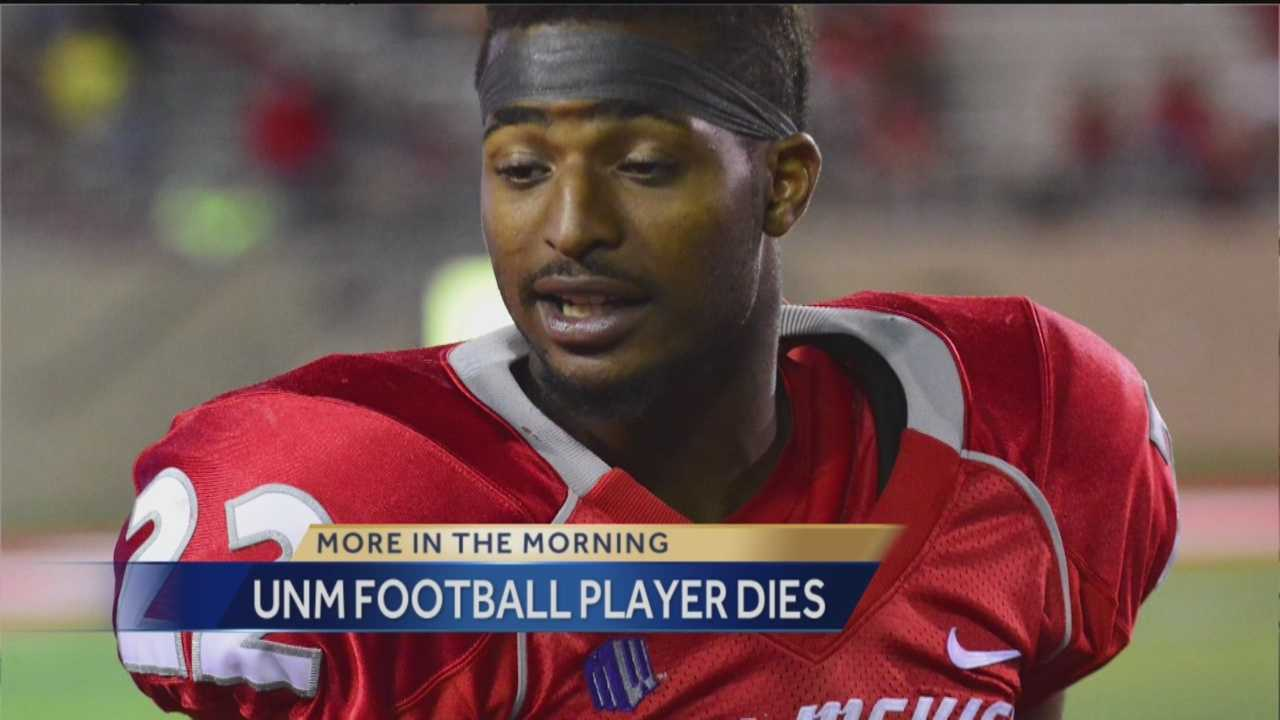 UNM Football Player Dies