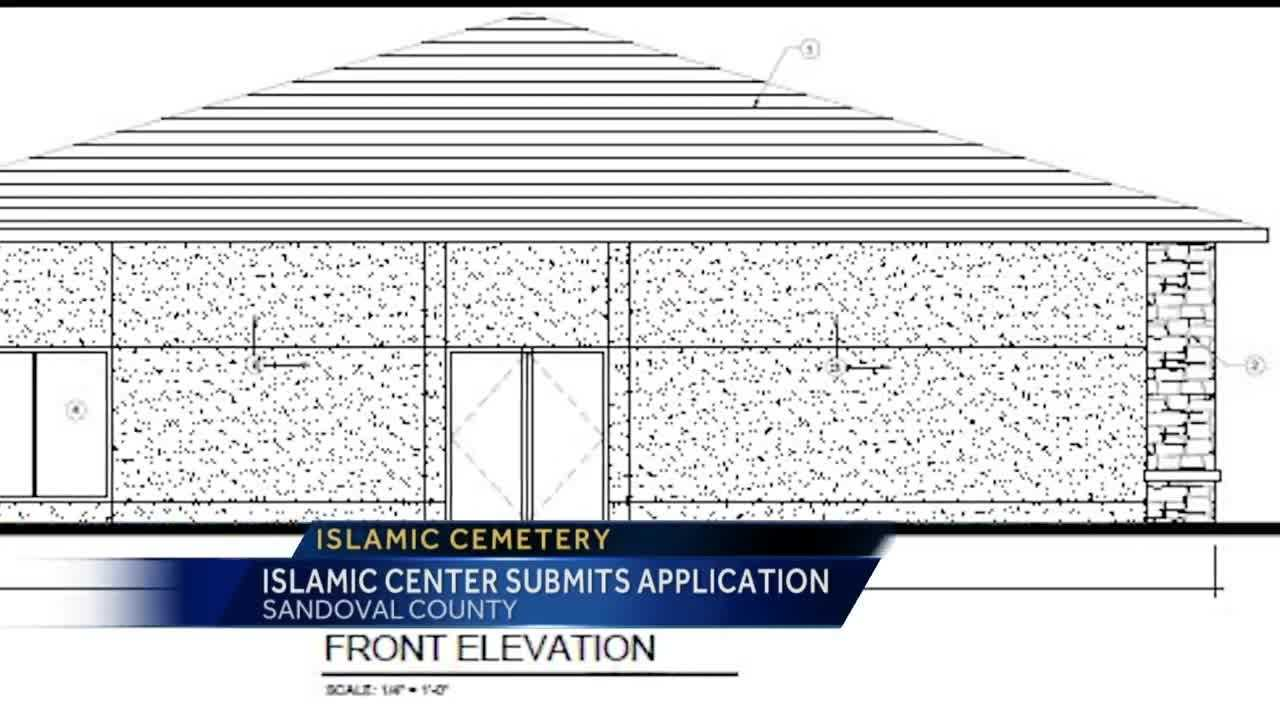 An application submitted by the Islamic Center of New Mexico for the first Islamic cemetery in the state clears first commission.