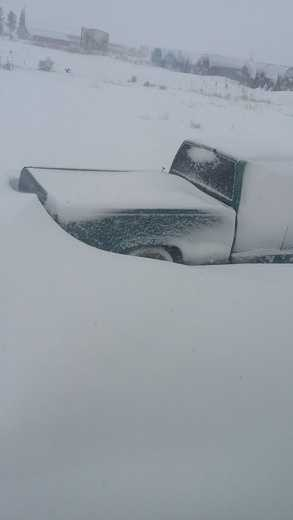 This Chevy Ain't Going Anywhere in Artesia, N.M.
