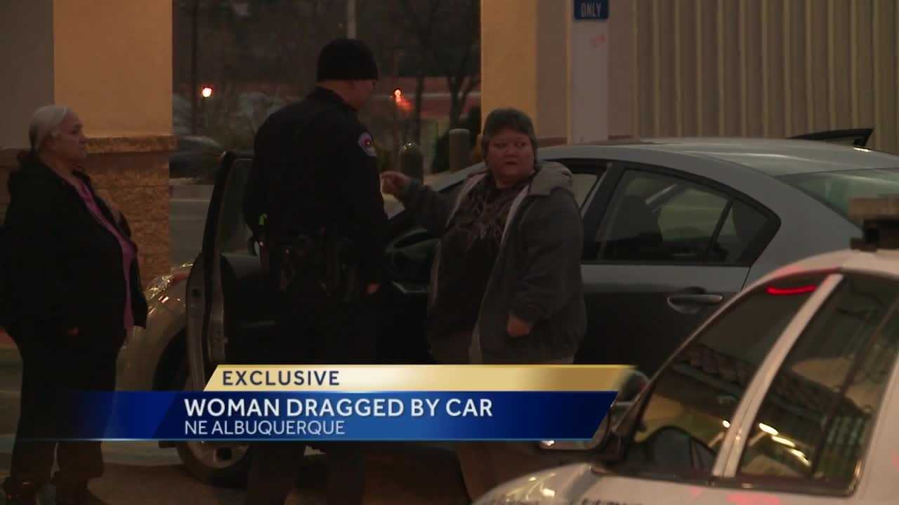 A trip to Walgreens took a crazy turn for one woman. A man tried to steal her car and dragged her across the parking lot.