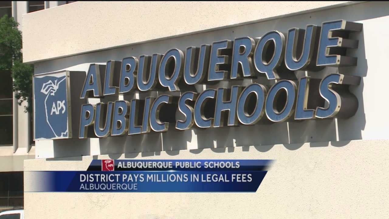 Albuquerque Public Schools is racking up millions in fees for attorneys who fight their legal battles.
