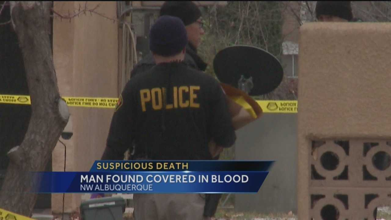 Albuquerque police are investigating after finding a man's body early Tuesday morning in a home in the 1200 block of Candelaria.