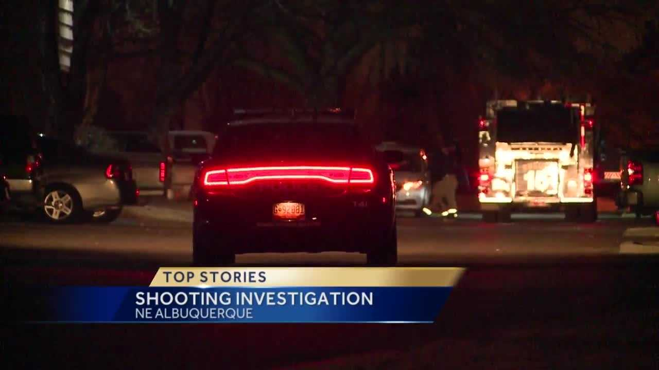 Police are investigating an overnight shooting in northeast Albuquerque.