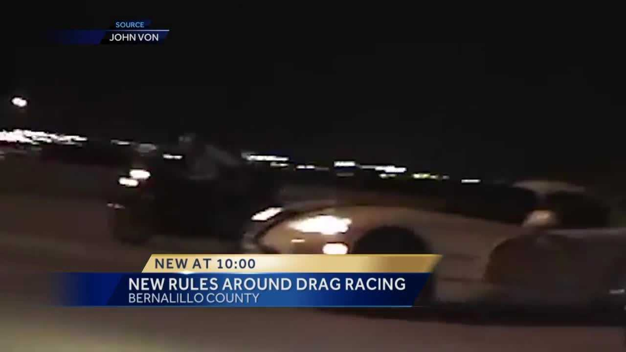 If you street race in Bernalillo County and get caught, you might lose your car.