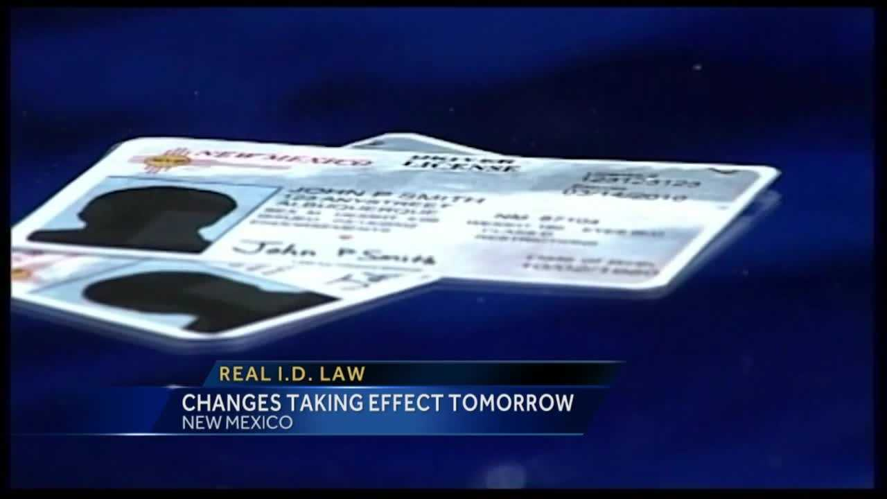 New rules for the federal real ID act go into effect Monday.