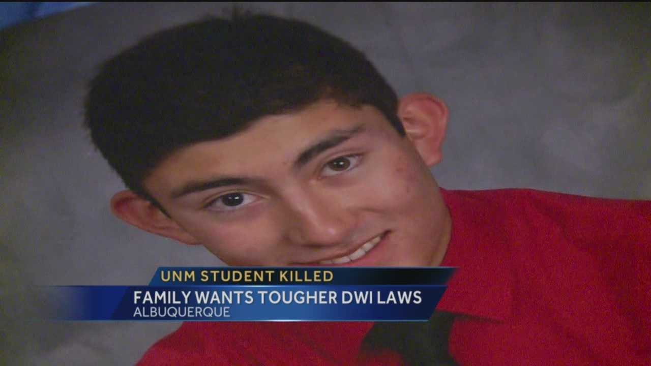 Nine-teen year old Jacob Salazar died after a head on collision with a a possible drunk driver.