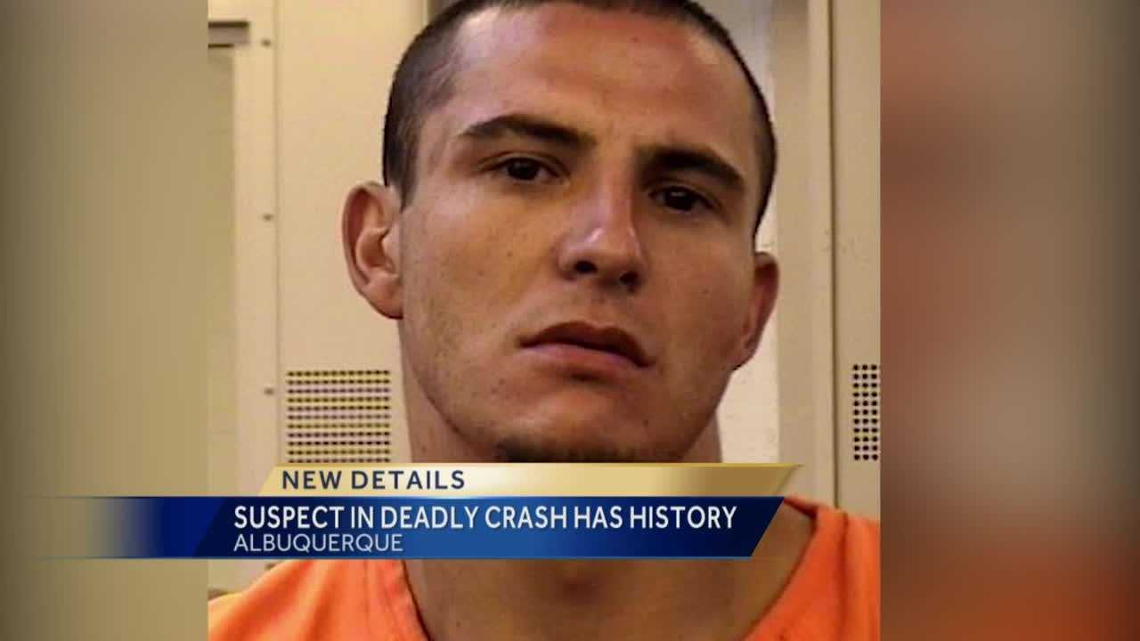 Criminal records show the suspect accused of killing a 19-year-old college student in a DWI crash has been arrested several times before.