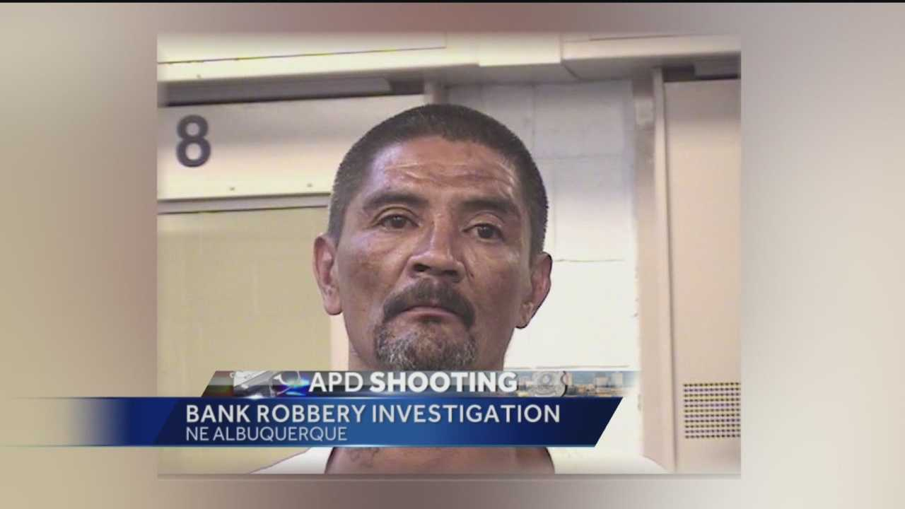 Federal agents have identified the suspect from Monday's failed bank robbery in northeast Albuquerque.