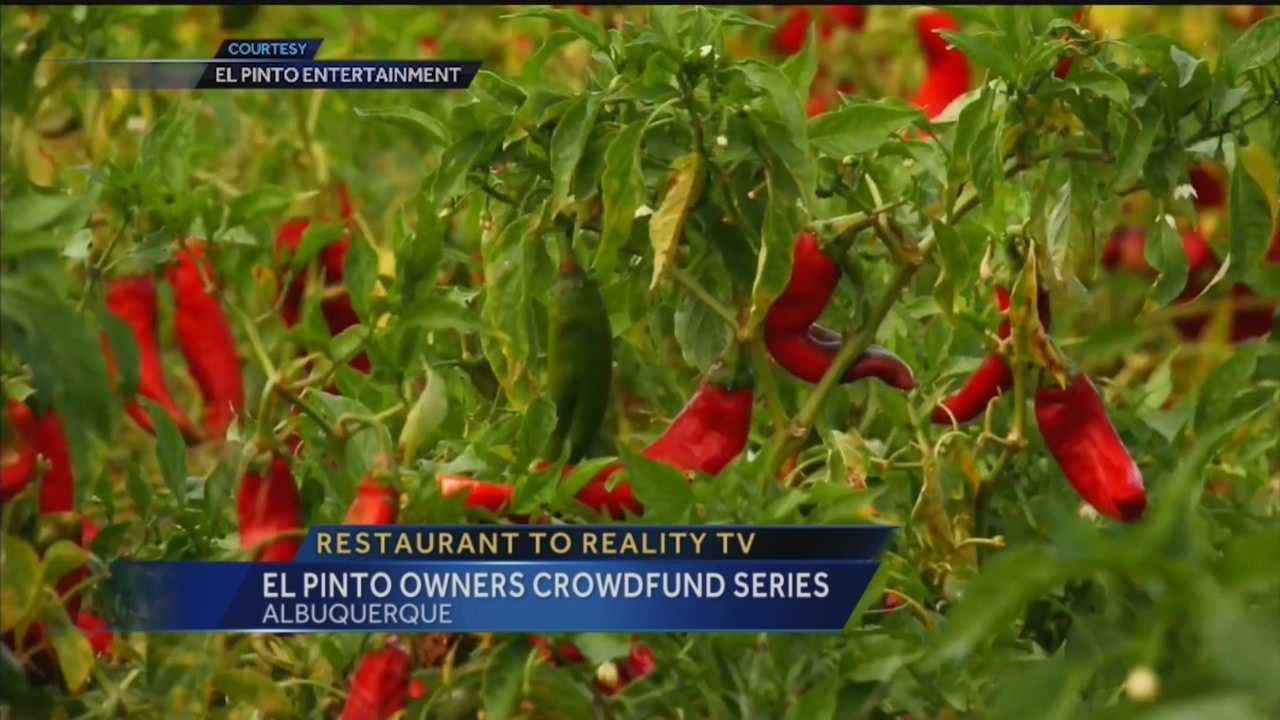 The owners of well-known Albuquerque restaurant, El Pinto, are trying to make it big in the television industry.