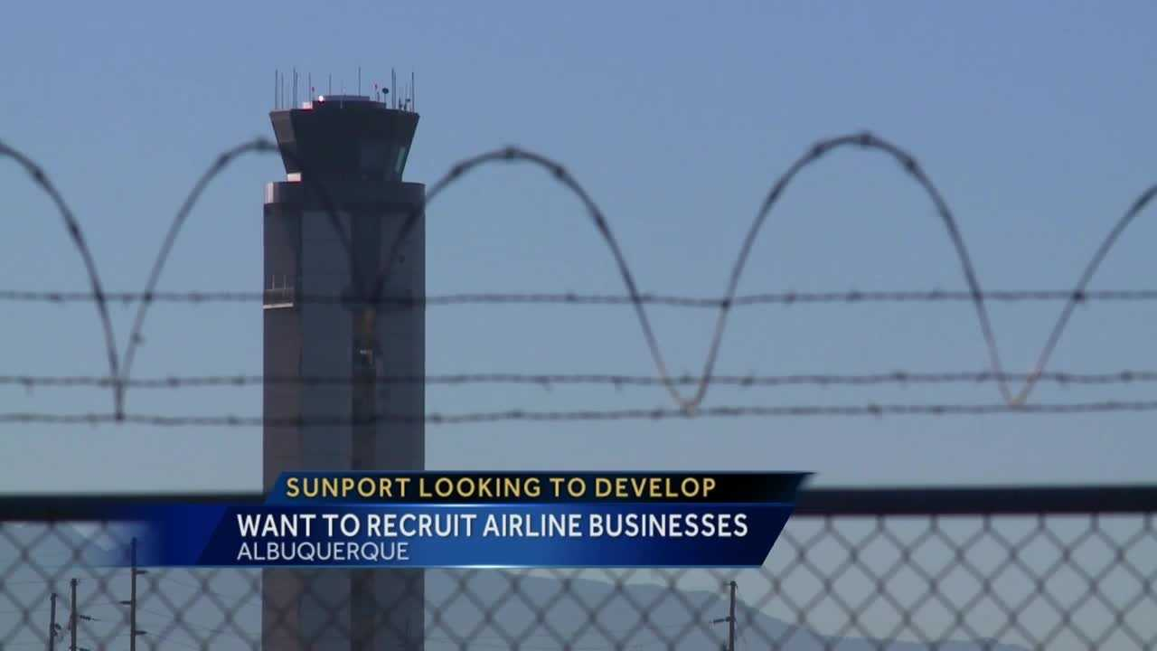 The sunport sees the old runway as a big business opportunity for them.
